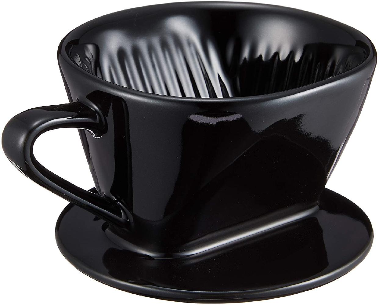 BONMAC(ボンマック) コーヒー ドリッパー メジャースプーン付き 1~2杯用 CD-1B ブラック #813002の商品画像2