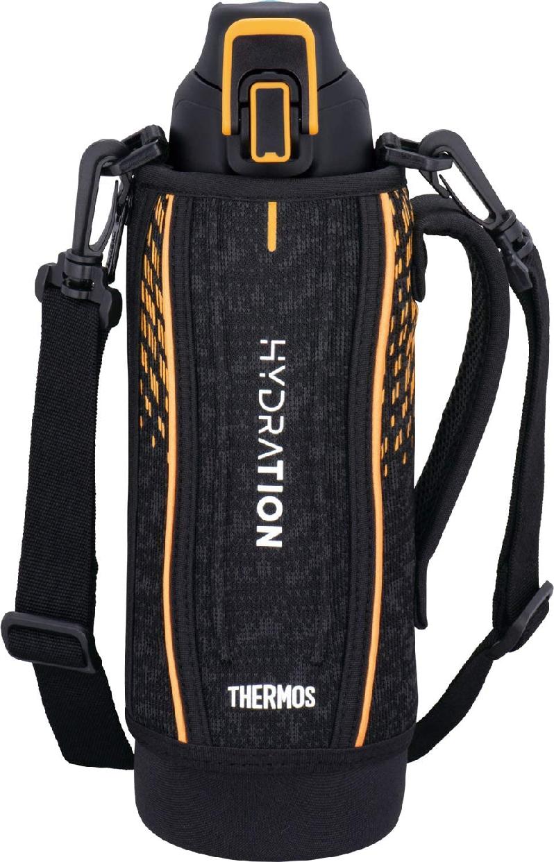 THERMOS(サーモス) 真空断熱スポーツボトル FHT-1001F ブラックオレンジの商品画像2
