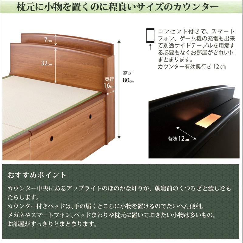 家具レンジャー 跳ね上げ式畳ベッド バネ式の商品画像11