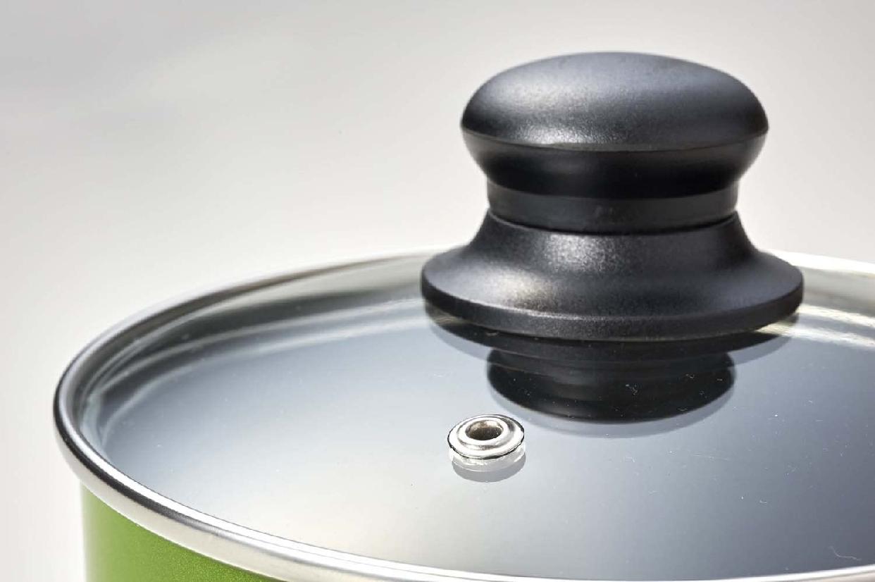 フォア片手鍋 ガラス鍋蓋付 16cm H-1863の商品画像2