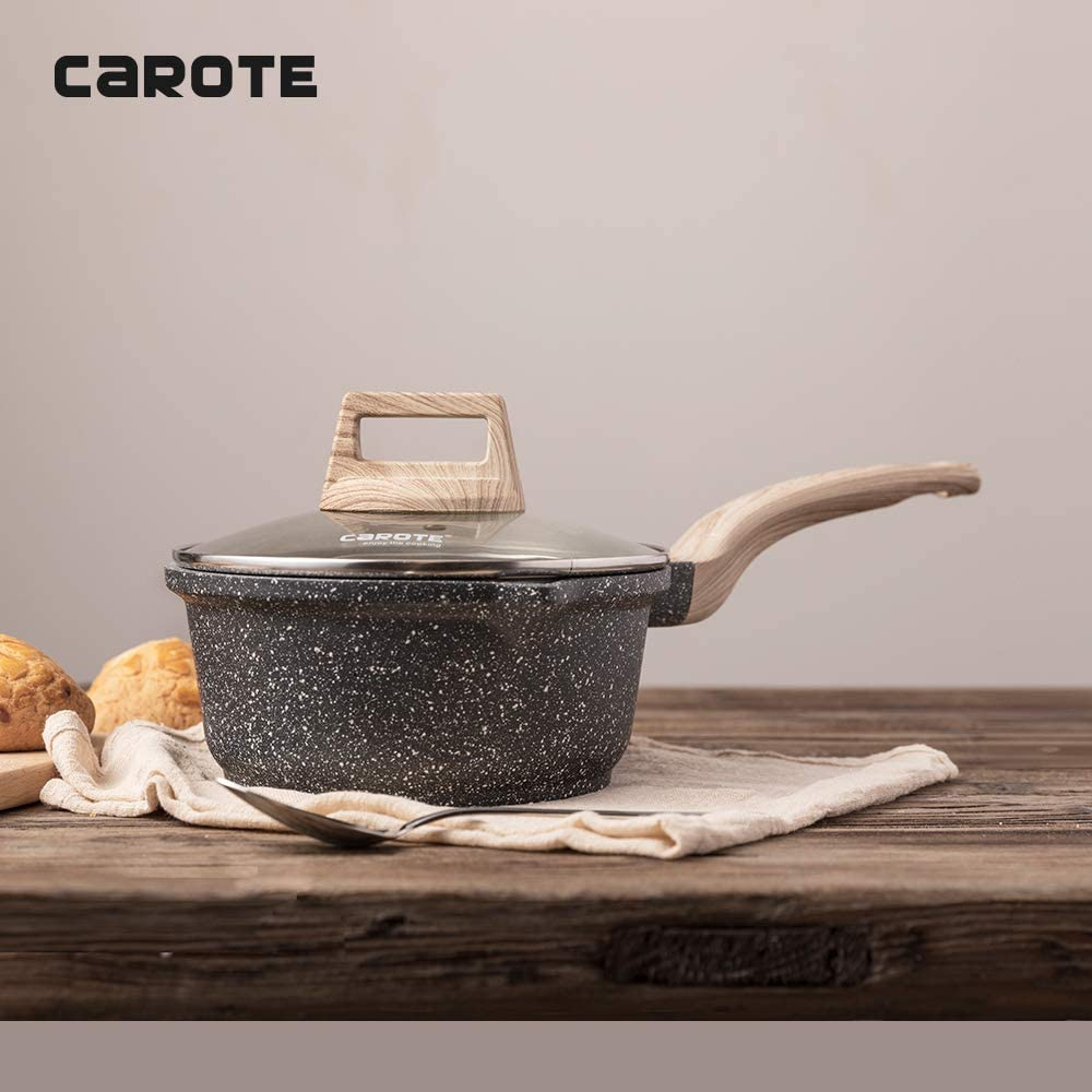 ESSENTIAL WOODY(エッセンシャルウッディ)ソースパン 20cm グレーの商品画像