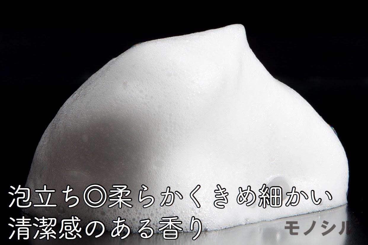 DEMI COSMETICS(デミコスメティクス)ミレアム ヘアケア シャンプーの商品の泡立ち