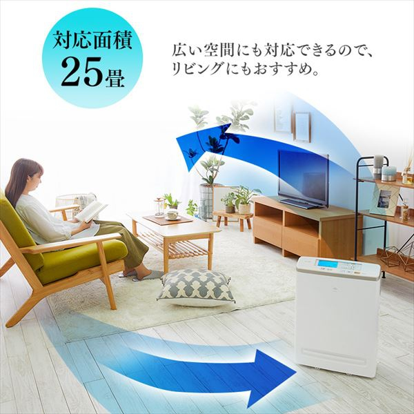 IRIS OHYAMA(アイリスオーヤマ) モニター空気清浄機 RMDK-50の商品画像8