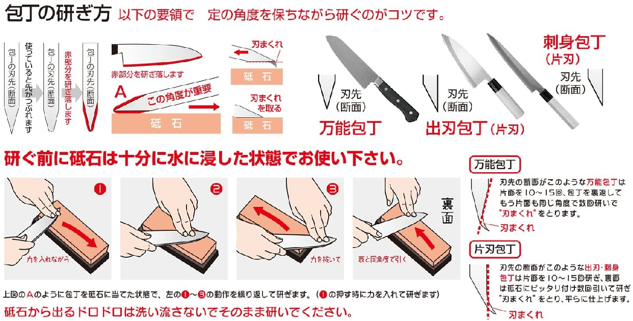 SUEHIRO(スエヒロ) キッチン両面スモール砥石(中/仕上) クリーム SKG-27の商品画像2