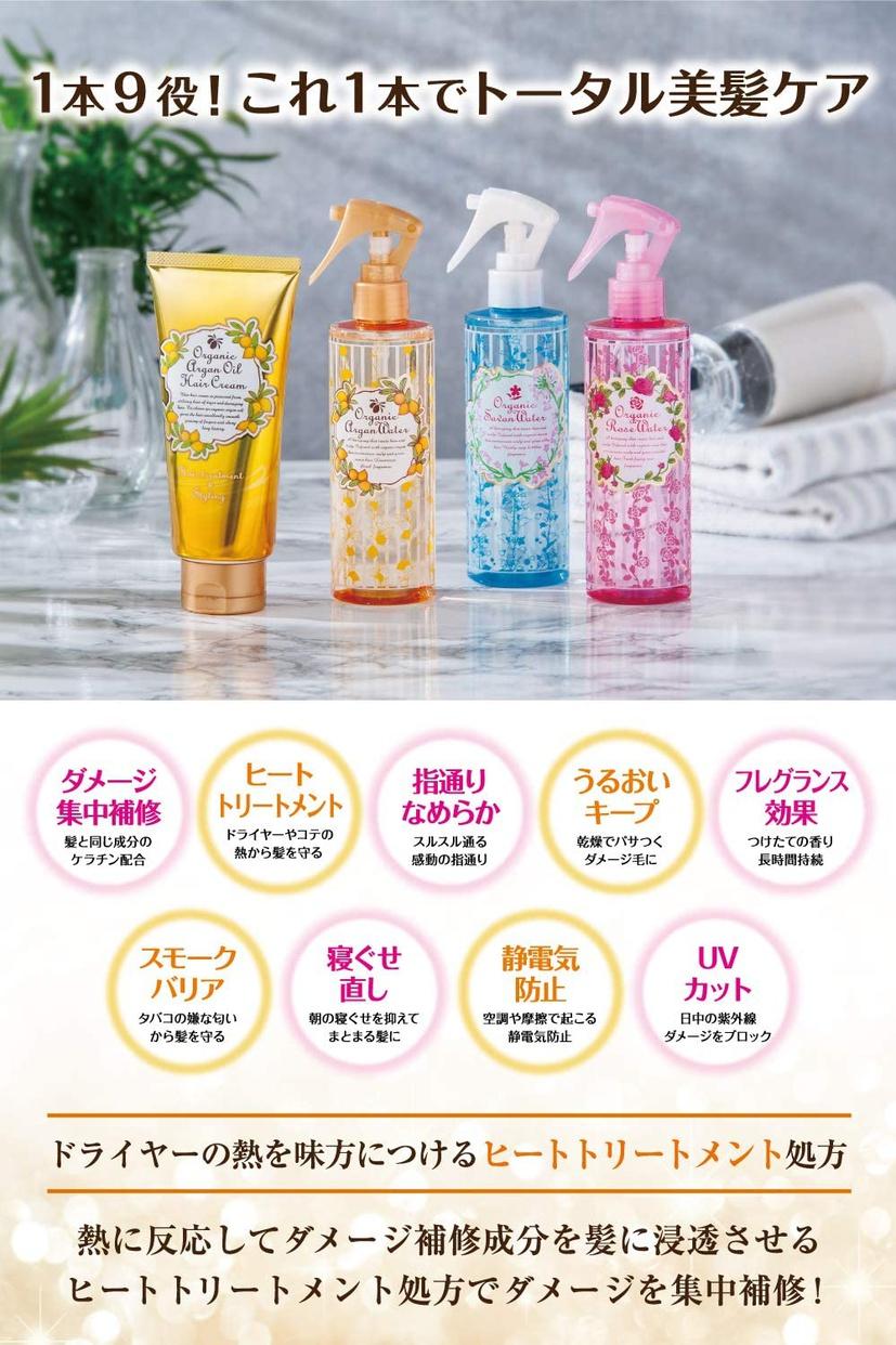 桃谷順天館(MOMOTANI JUNTENKAN) オーガニックローズヘアウォーターの商品画像5