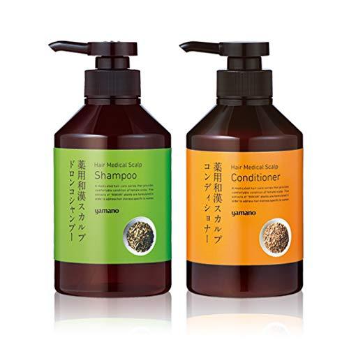 ヤマノ肌(ヤマノハダ) 薬用和漢スカルプドロンコシャンプー/コンディショナーの商品画像