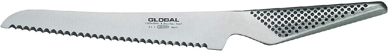 GLOBAL(グローバル) ベーグル/サンドイッチナイフ 16cm GS-61 シルバーの商品画像