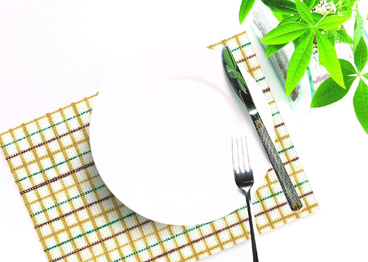 AGENT ONE(エージェントワン)使いすてキッチンダスター チェック柄ベージュの商品画像4