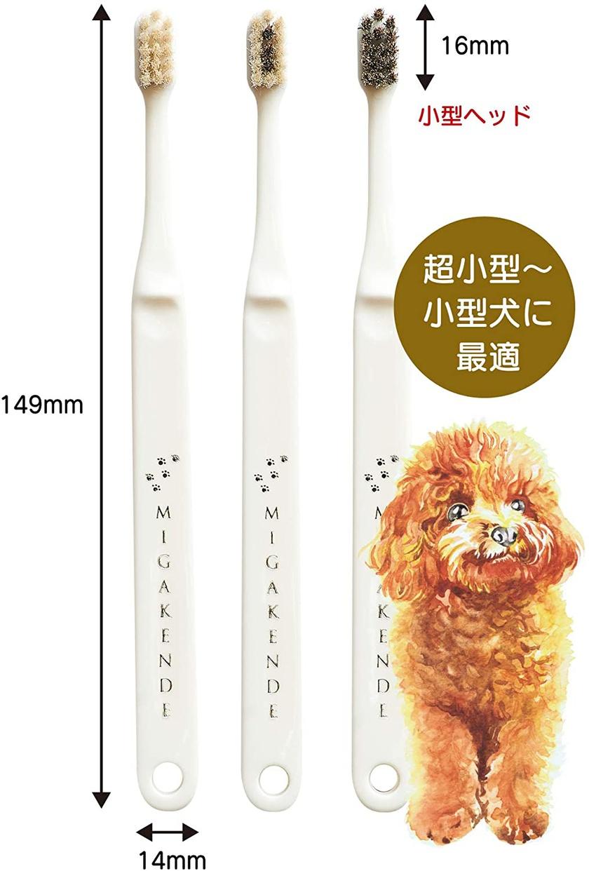 MIGAKENDE(ミガケンデ) 柔らかい天然毛歯ブラシの商品画像8