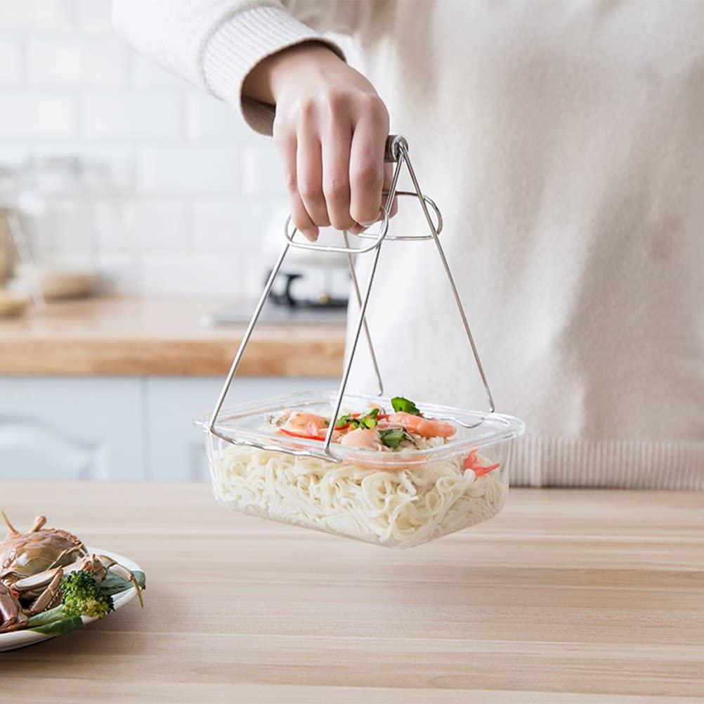 WINOMO(ウィノモ) 鍋つかみ ボウルクリップ ステンレスの商品画像4