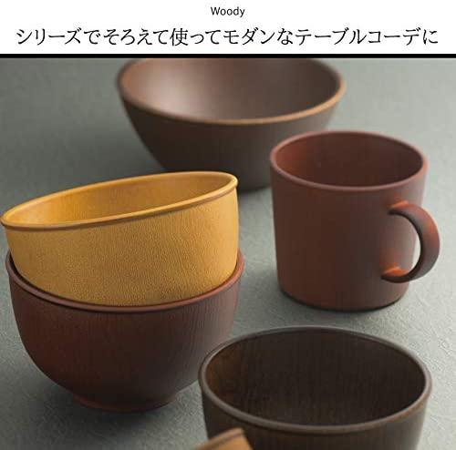 kano(カノー) Woody ランチプレート マーチブラウンの商品画像4