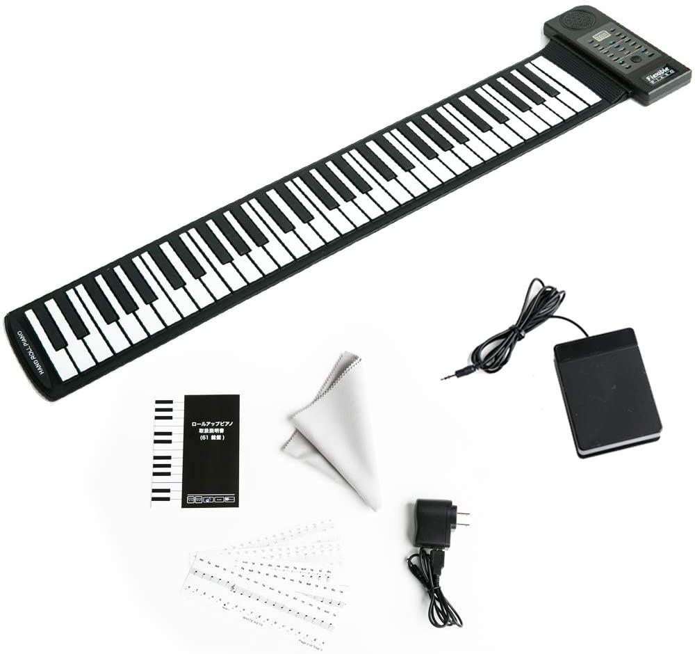 CARINA(カリーナ) ロールアップキーボードピアノ 61鍵 AF0061の商品画像