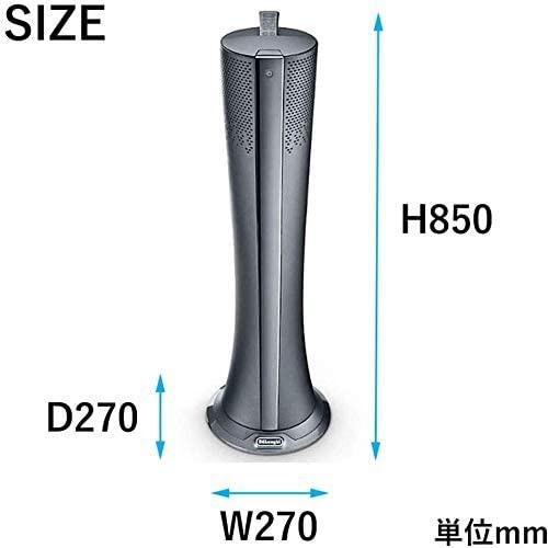 DeLonghi(デロンギ) 空気清浄機能付き スリムファン HFX85W14Cの商品画像2