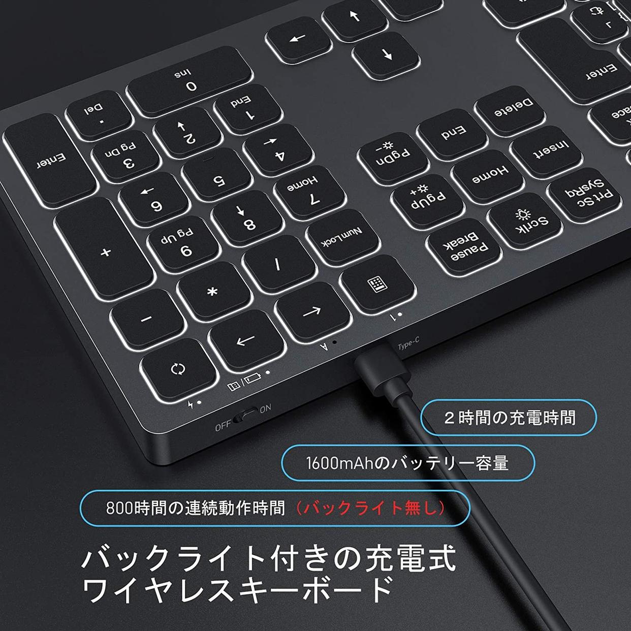 seenda Bluetooth キーボードの商品画像4