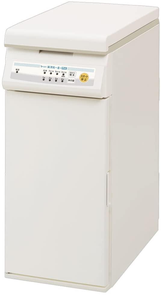 エムケー保冷精米機米冷え~る + mill NCP-10W ホワイトの商品画像