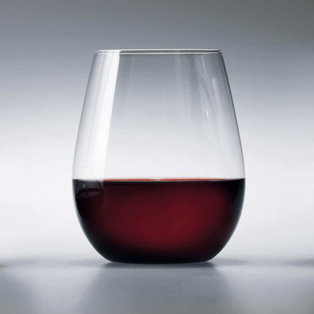 松徳硝子(SHOTOKU GLASS) [No.2911001] うすはり ボルドー(単品) 白の商品画像2