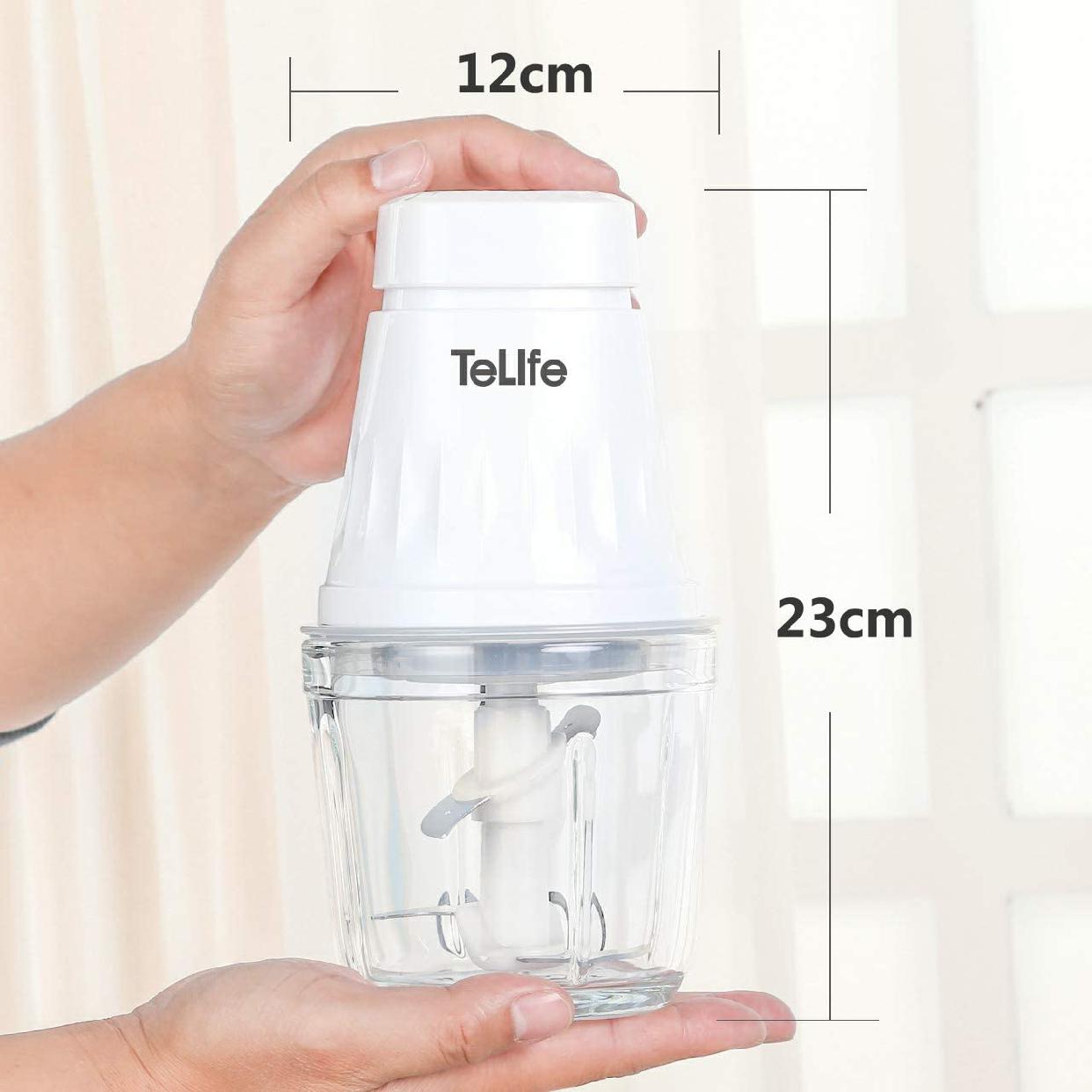 TeLife(テライフ)フードプロセッサー コンパクト ブレンダー (ホワイト)の商品画像7