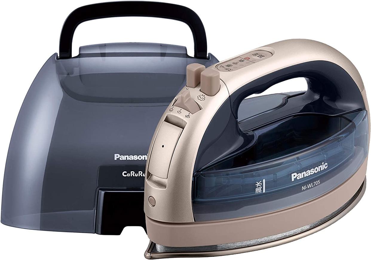 Panasonic(パナソニック) コードレススチームアイロン NI-WL705の商品画像