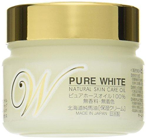 北海道純馬油本舗 北海道精製純馬油ピュアホワイトの商品画像