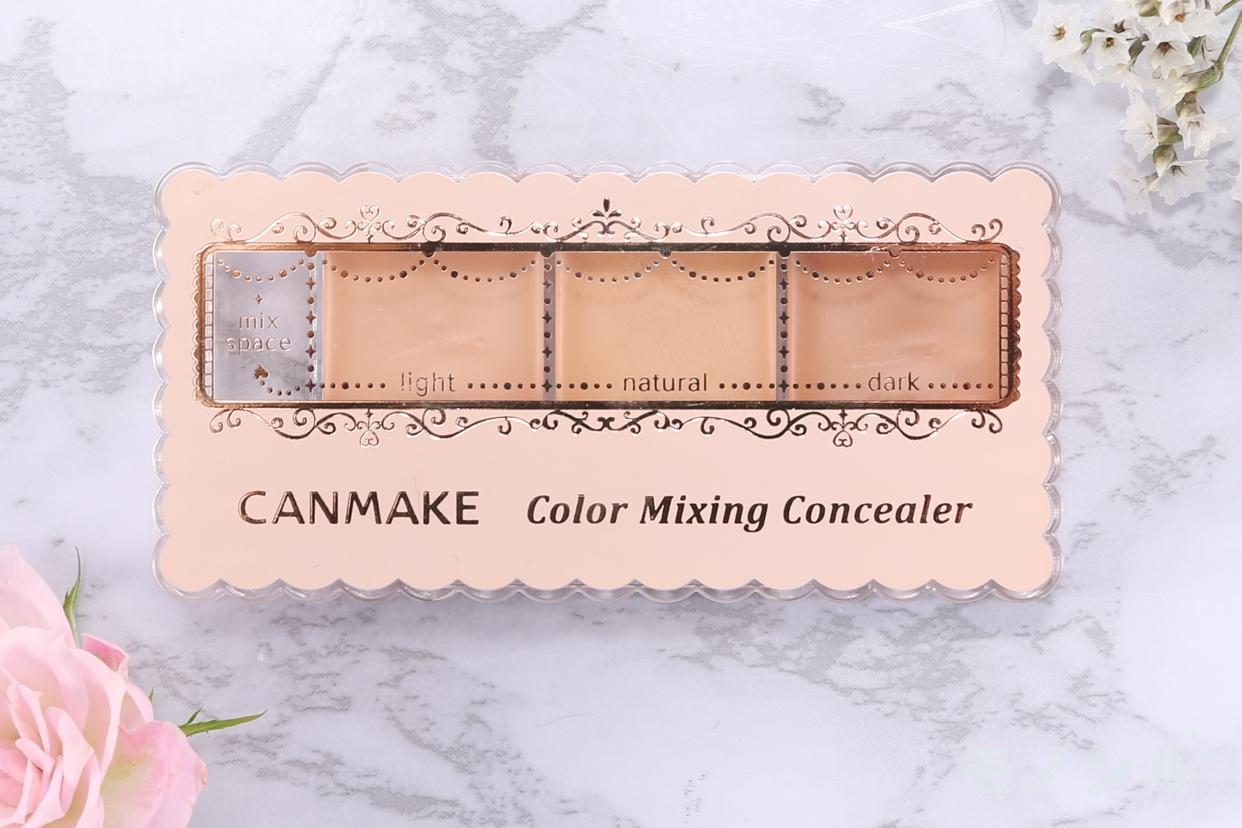 CANMAKE(キャンメイク)カラーミキシングコンシーラー