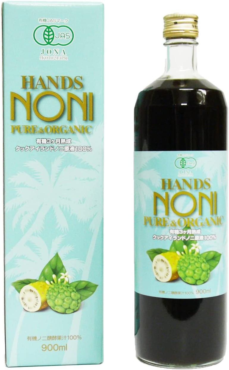 HANDS NONI(ハンズノニ) 3ヶ月熟成発酵ノニジュース100%の商品画像