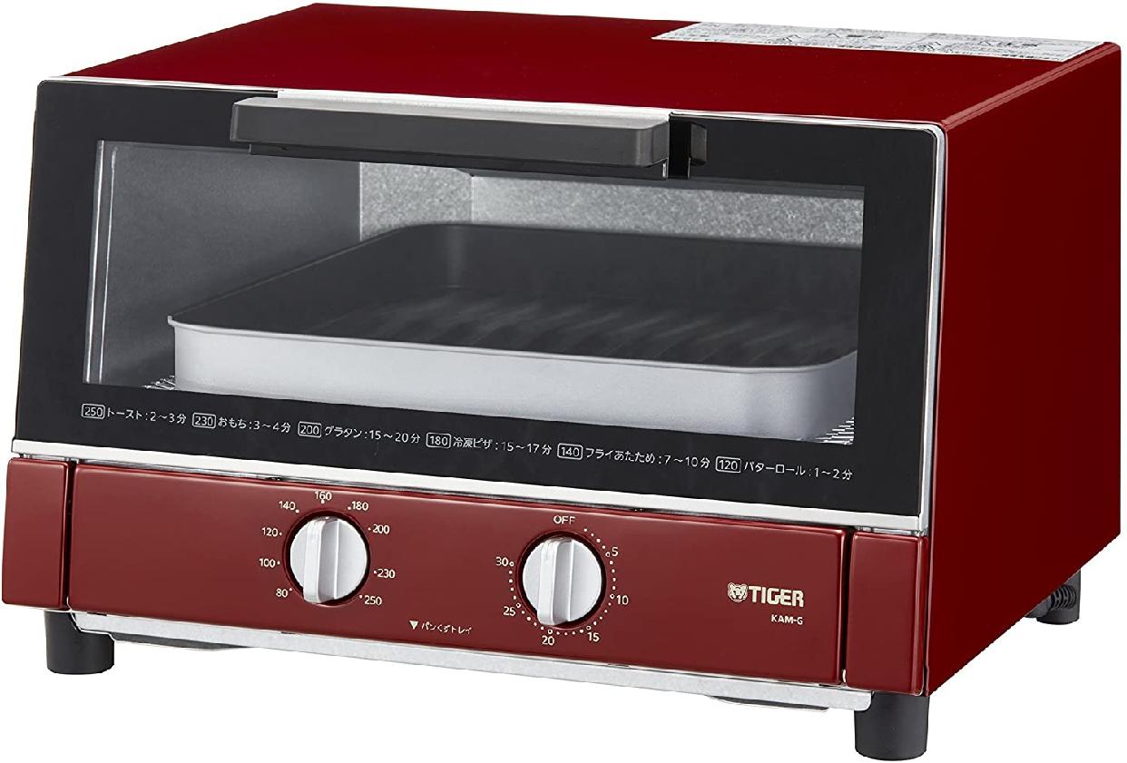 タイガー魔法瓶(TIGER) オーブントースター <やきたて> KAM-G130の商品画像