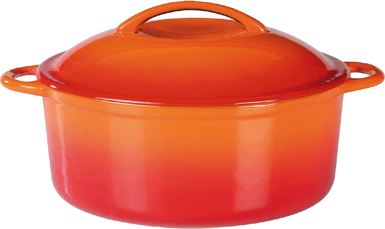ruhru(ルール) Orange Shadow(オレンジシャドウ) 無水調理鍋 24cmx10cmの商品画像