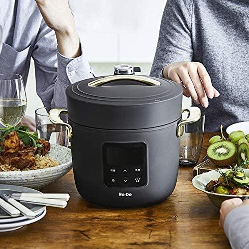 Re・De Pot(リデ ポット) 電気圧力鍋 2Lの商品画像5