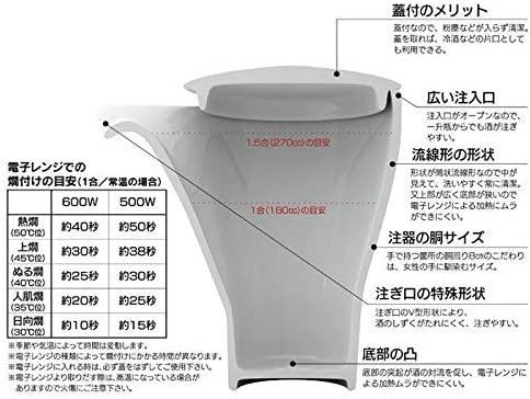 有田焼やきもの市場(ありたやきものいちば)有田焼 月の光 至福の半酒器セットの商品画像6