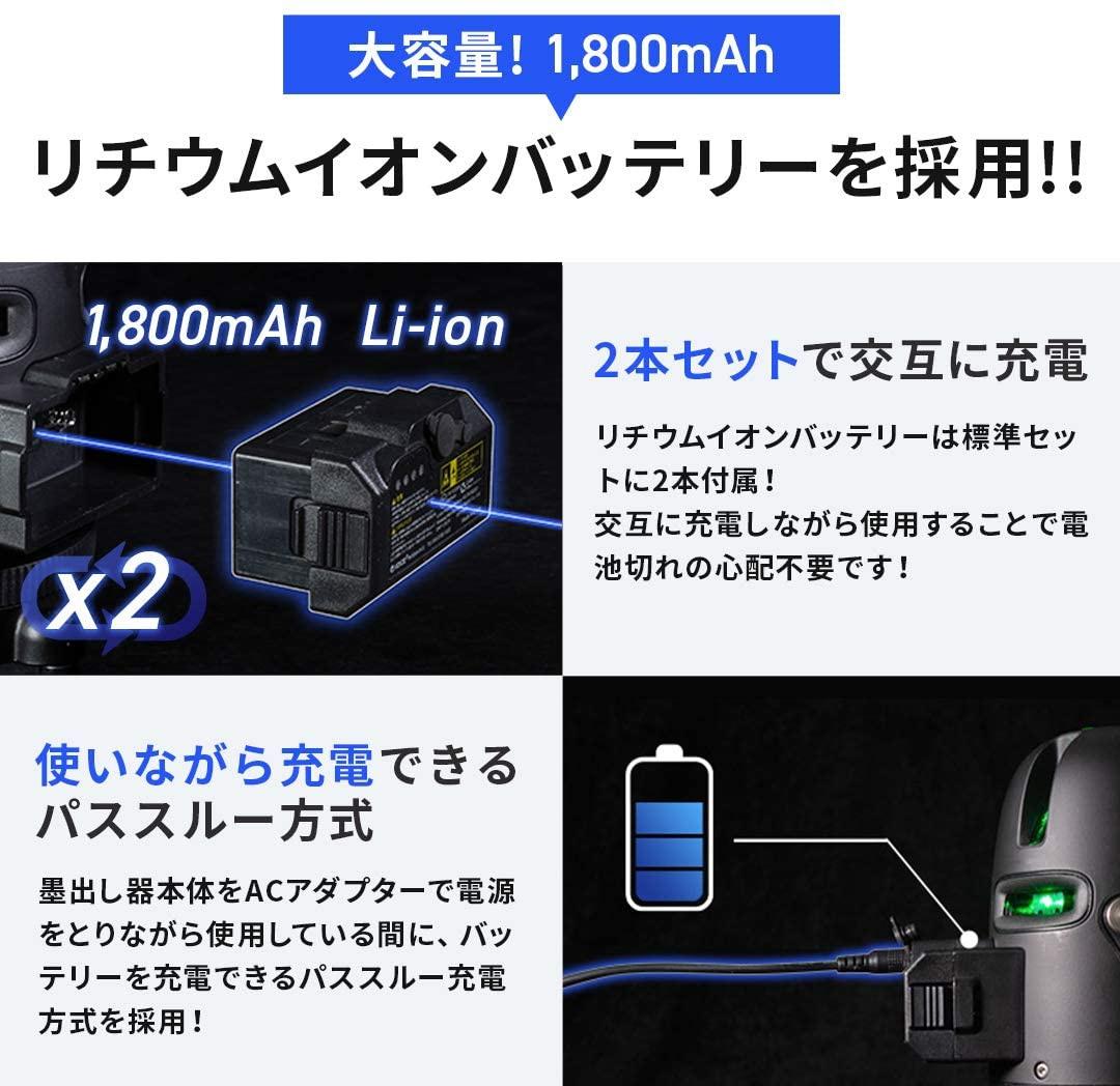 VOICE(ヴォイス) 5ライングリーンレーザー Model-G5の商品画像6