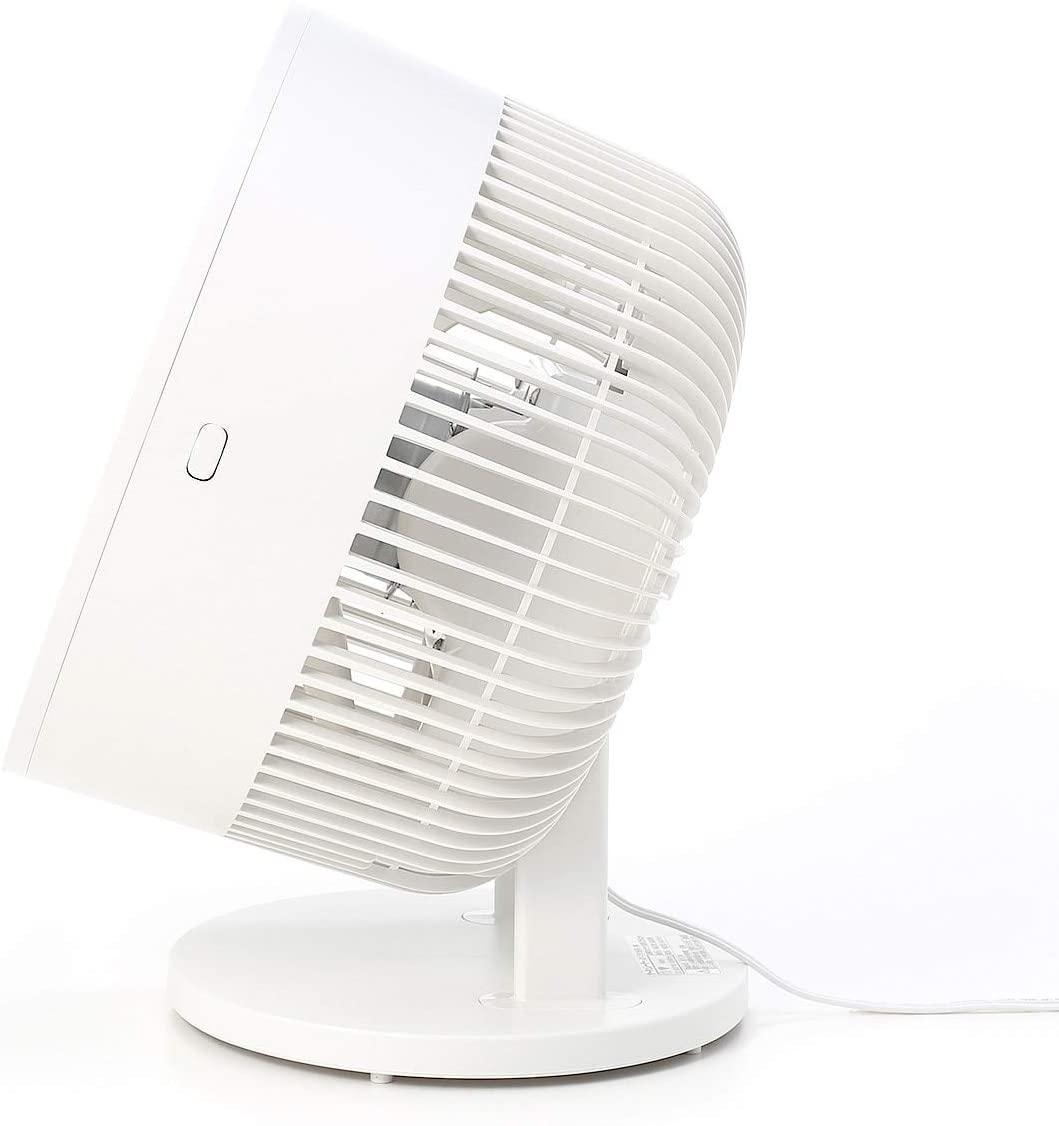 無印良品(MUJI) サーキュレーター(低騒音ファン・大風量タイプ) AT-CF26R-Wの商品画像9