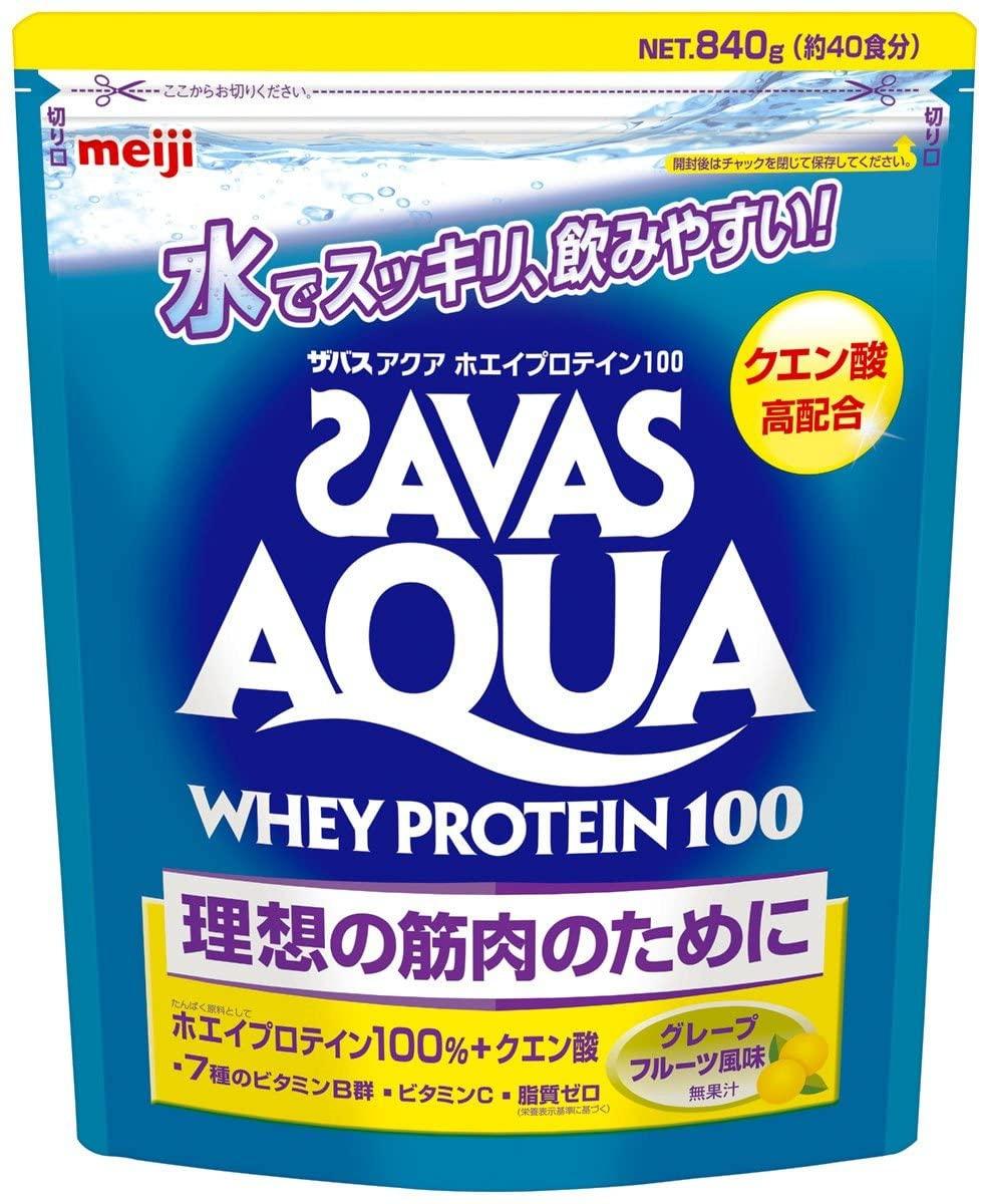 SAVAS(ザバス) アクアホエイプロテイン100の商品画像