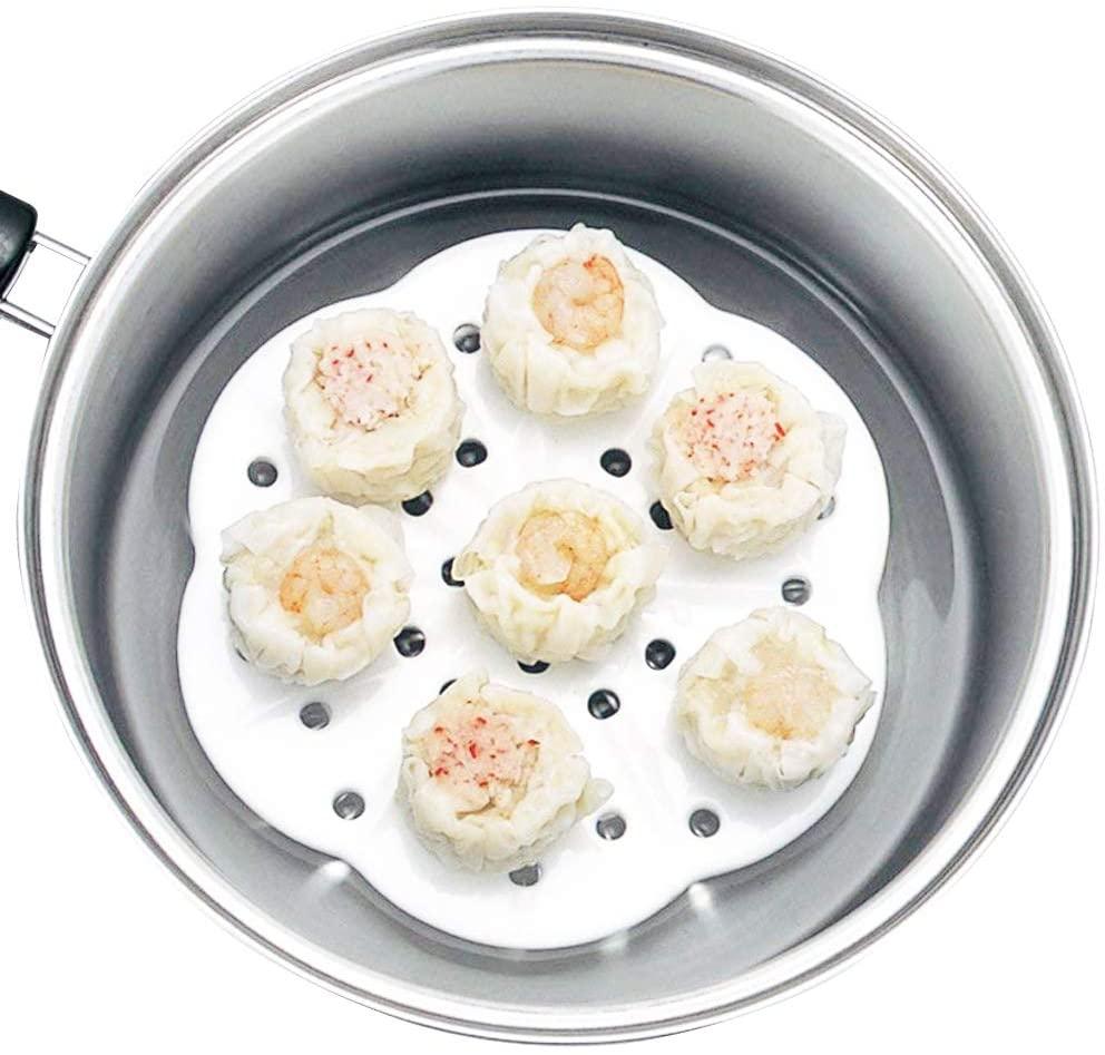 貝印(カイ)蒸し器 & 蒸し蓋 セラミック ホワイト DH7028の商品画像7