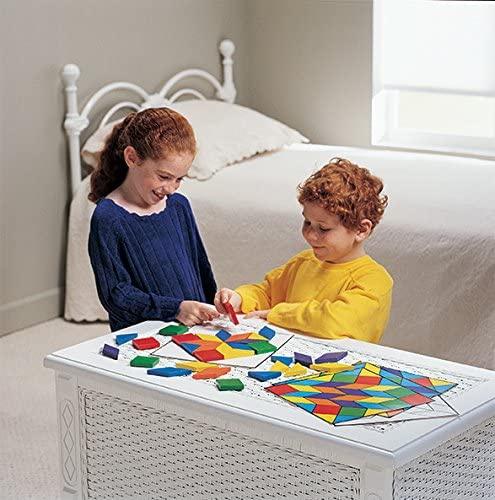 Learning Resources(ラーニングリソーシズ) Parquetry Blocks Super Set LER0289の商品画像6