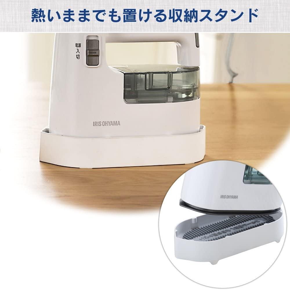 IRIS OHYAMA(アイリスオーヤマ) 衣類用スチーマー IRS-01の商品画像7