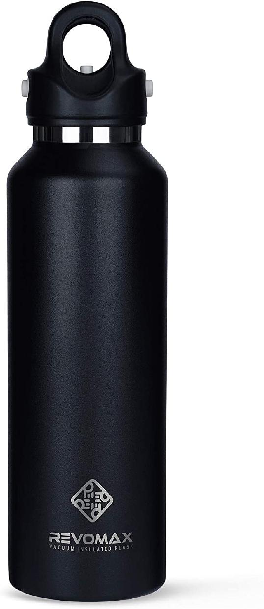 REVOMAX(レボマックス) 真空断熱ボトル オニキスブラック 592mlの商品画像