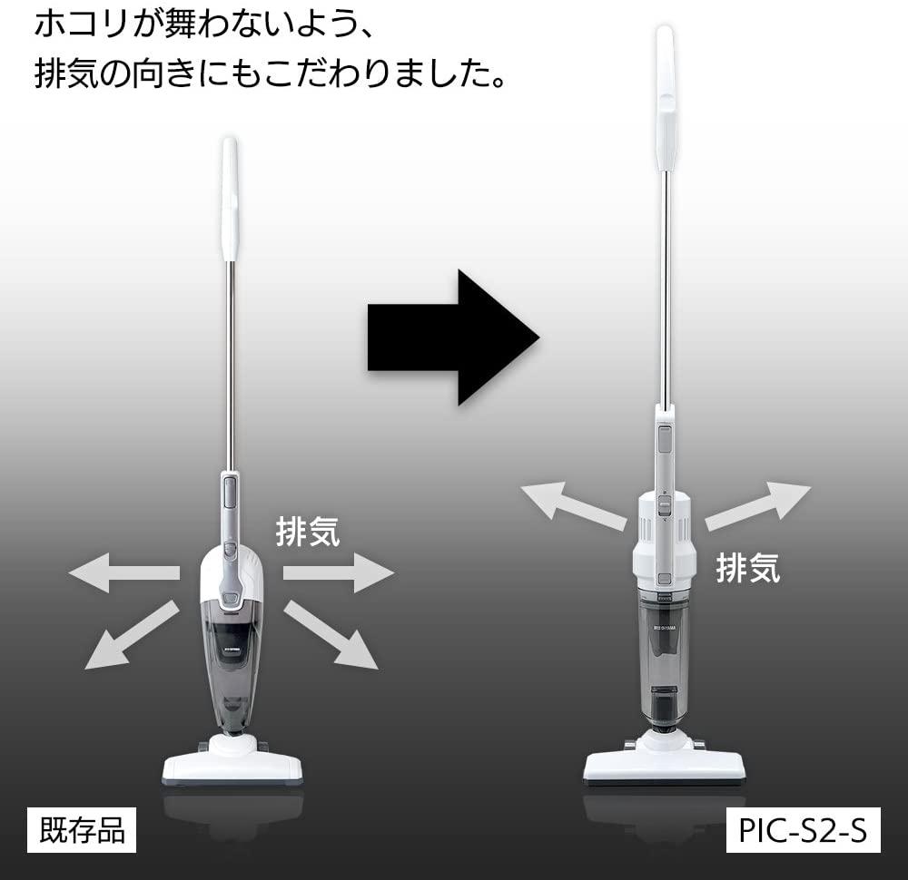 IRIS OHYAMA(アイリスオーヤマ) 極細軽量スティッククリーナー PIC-S2-Sの商品画像5