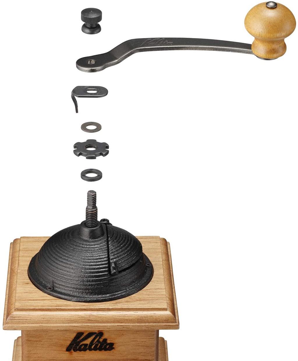 Kalita(カリタ) ドームミル 手挽き 42033の商品画像6