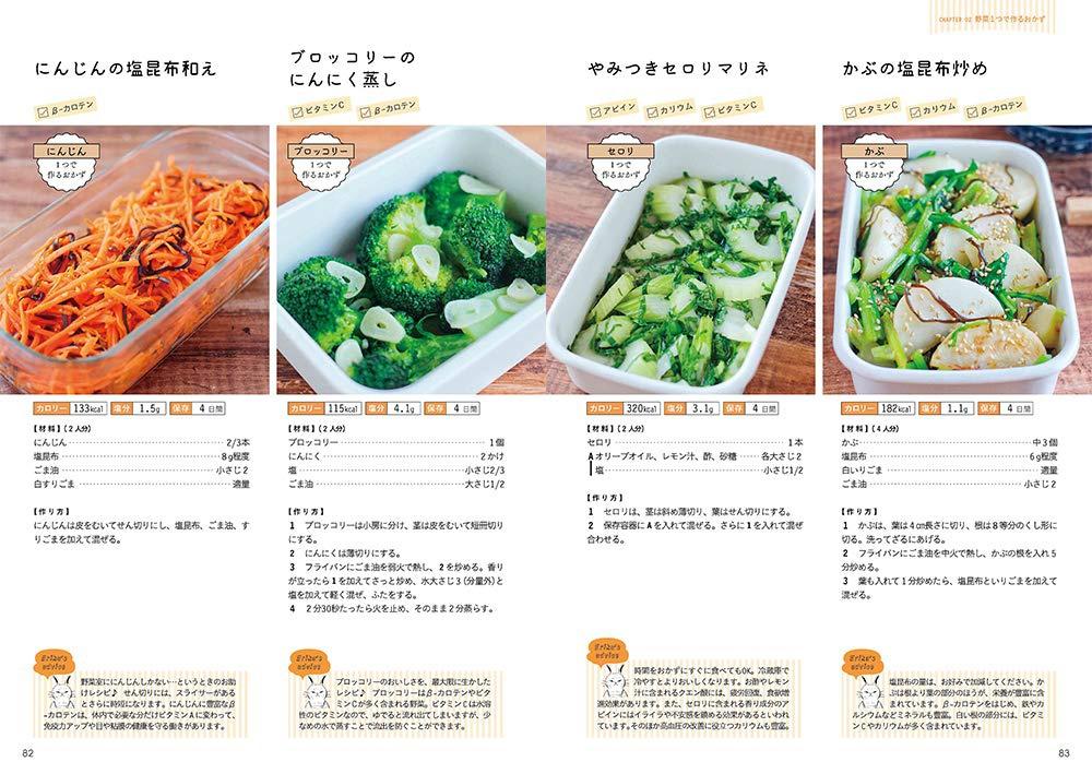 MdN(エムディエヌ) 野菜がおいしすぎる作りおき 管理栄養士の体にいいラクおかず184の商品画像9