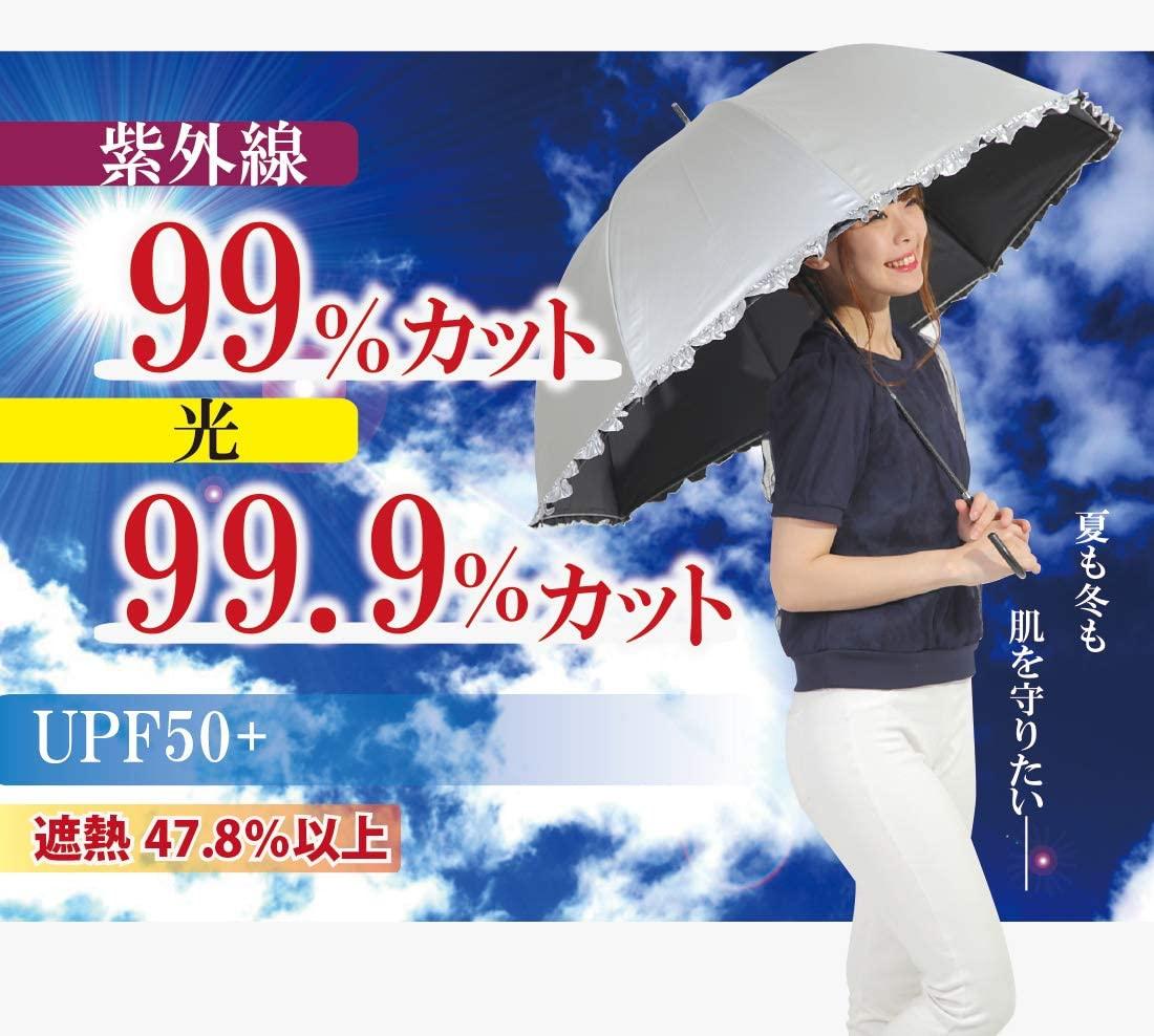 オカモト原宿店(オカモトはらじゅくてん) 晴雨兼用 日傘 ドーム型の商品画像4