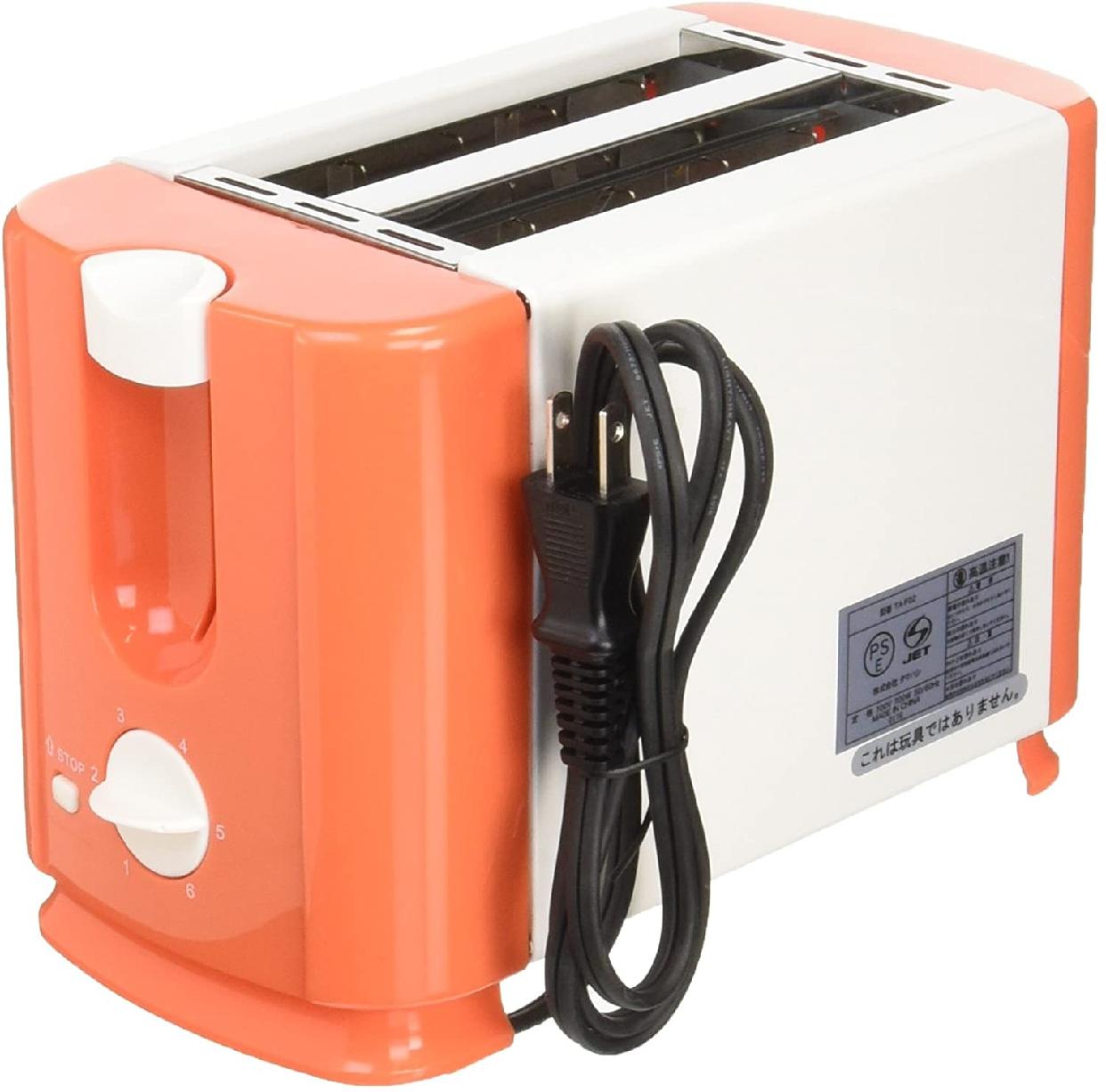 タマハシ ミッフィー ポップアップトースター オレンジ DB-203の商品画像2