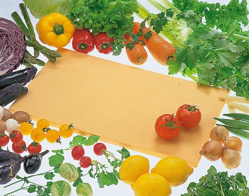 アサヒクッキンカット ゴムまな板 M オレンジの商品画像2