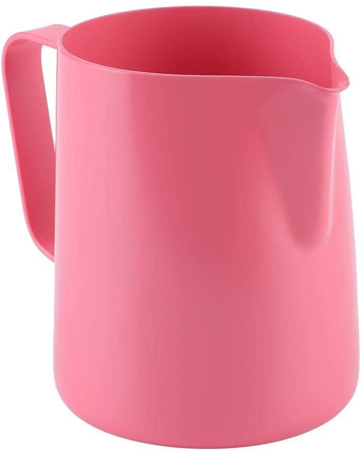 Fishlor(フィッシュロー)350mlミルク泡立てピッチャー ピンクの商品画像