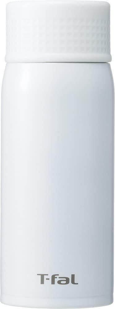 T-fal(ティファール) ステンレスマグボトル クリーンマグ ミルキーホワイト 350mlの商品画像