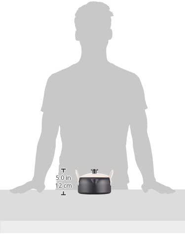 パール金属(パールキンゾク)オベ・フラ お弁当用鉄製蓋付両手フライ鍋16cm ブラック HB-283の商品画像4
