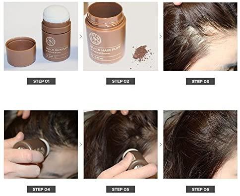 THE FACE SHOP(ザフェイスショップ) クイックヘアパフの商品画像2