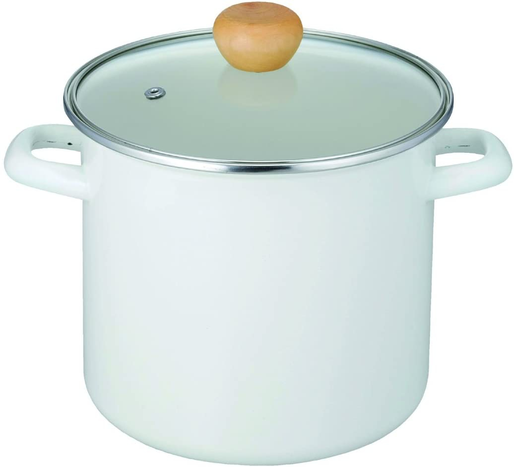 カクセーカレー&パスタ ホーロー深型鍋 18cmの商品画像