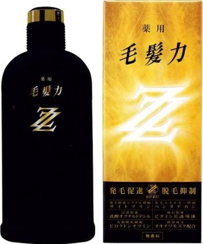 毛髪力 薬用毛髪力ZZ 200mlの商品画像