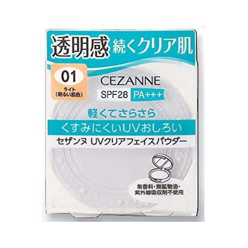 CEZANNE(セザンヌ)UVクリアフェイスパウダー(クリア)の商品画像