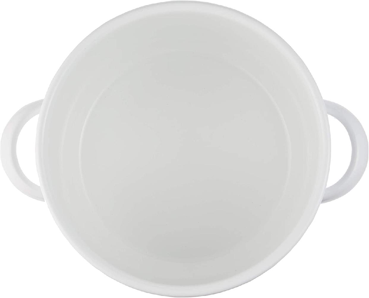月兎印(ツキウサギジルシ)シチューポット 21cm ホワイトの商品画像3